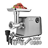 ChefWave Grinder586 Electric Meat Grinder, 10.8 x 11.4 x 29.6 inches, Not Available