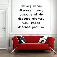 strong minds discuss ideas