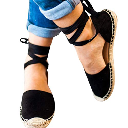 Top 10 best selling list for lace up espadrille flat shoes