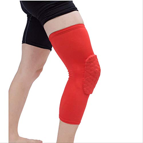 dhude 1pcs Breathable Basketball Football Safety Kneepad Volleyball Knie-Pads XL B