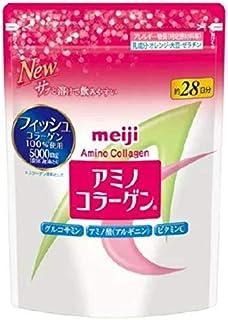アミノコラーゲン 詰め替え用 (196g)×3袋 【明治 アミノコラーゲン アミコラ】