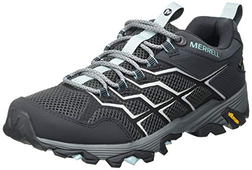 Merrell MOAB FST 2 GTX, Zapatillas para Caminar Mujer, Gris (Storm), 38 EU