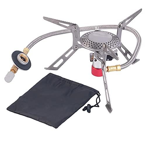 Mini portátil plegable camping estufa de gas al aire libre camping senderismo equipo gasolina picnic estufa quemadores