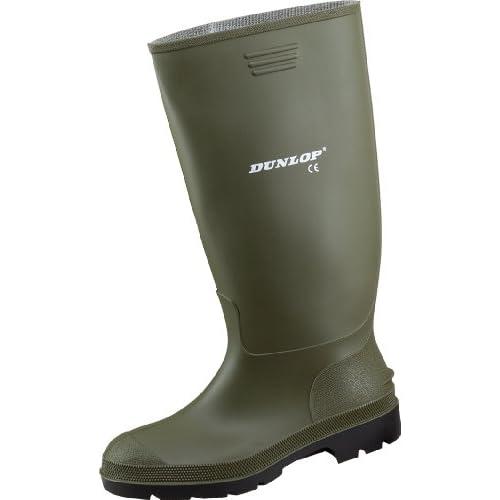 Dunlop Protective Footwear Pricemastor Unisex Adulto Stivali di Gomma, Verde 41 EU
