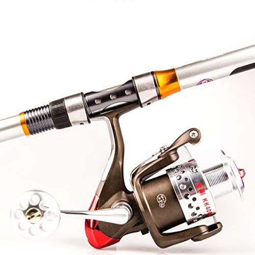 FSJKZX Carrete De Pesca De 10 Ejes Delantero Descarga De Spinning Rueda De Hilos De Metal Completo Taza De Cabos Mar Funditos De Vara Longitud Longitud De Pesca De Pesca De Profundidad
