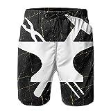 VJSDIUD Blacksmith Clipart - Shorts de Playa para Hombre con cordón, Traje de baño