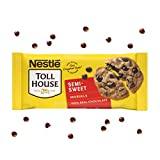 One 6 oz bag of Nestle Toll House Semi Sweet Chocolate Chips Semi sweet baking chocolate is perfect to add to chocolate chip cookies, brownies or pancakes Chocolate baking chips made with 100% real chocolate Enjoy semi sweet chocolate chips as a popp...