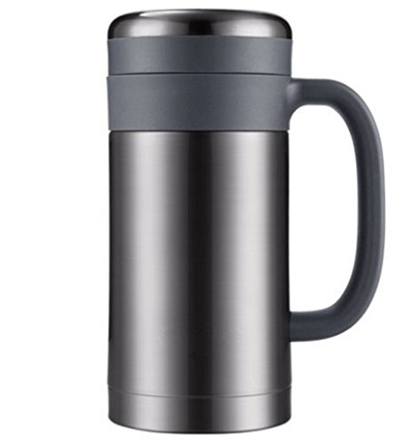 Vakuum Cup High Grade 304Edelstahl Vakuum Tee Tasse Gürtel Griff