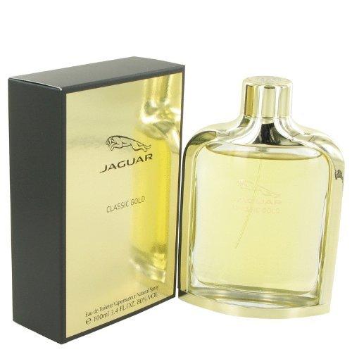 Jaguar Classic Gold By Jaguar Eau De Toilette Spray 3.4 Oz For Men by Jaguar