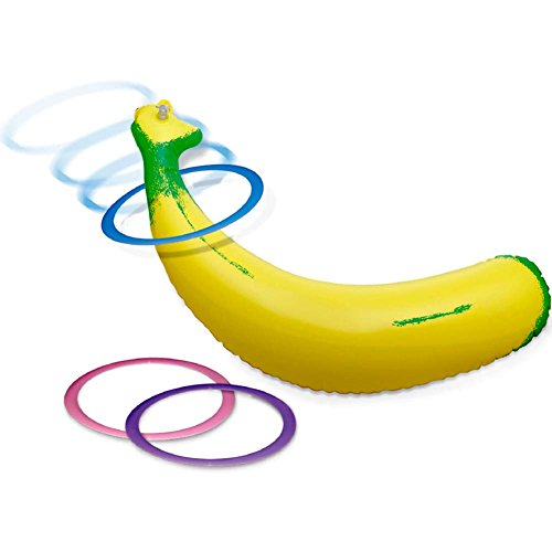 Bachelorette Party Inflatable Banana Ring Toss Game