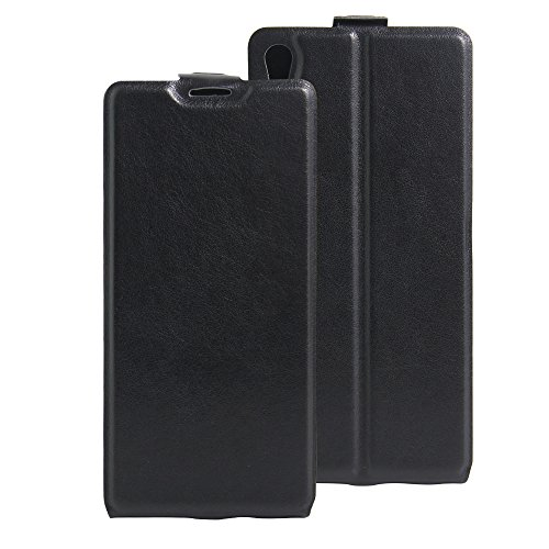 Oujiet-eu CN Custodia per Sony Xperia Z Ultra C6806 C6833 Custodia Flip in Pelle PU + Cover Case in Silicone Fissa Protezione 7