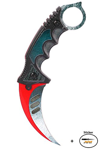 CS GO Karambit Elite - Autotronic - CSGO Knife Skin Counter Strike Global Offensive Jagdmesser - Bundle - Ariknives
