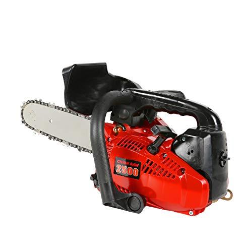 エンジン式 チェーンソー 10インチ(25cm) エンジンチェンソー 排気量:25.4cc ガソリン 剪定 薪割り 伐採 チェーンソー チェンソー
