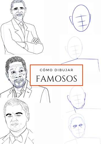 Como dibujar FAMOSOS: Libro aprender a dibujar Personajes famosos para niños y adultos