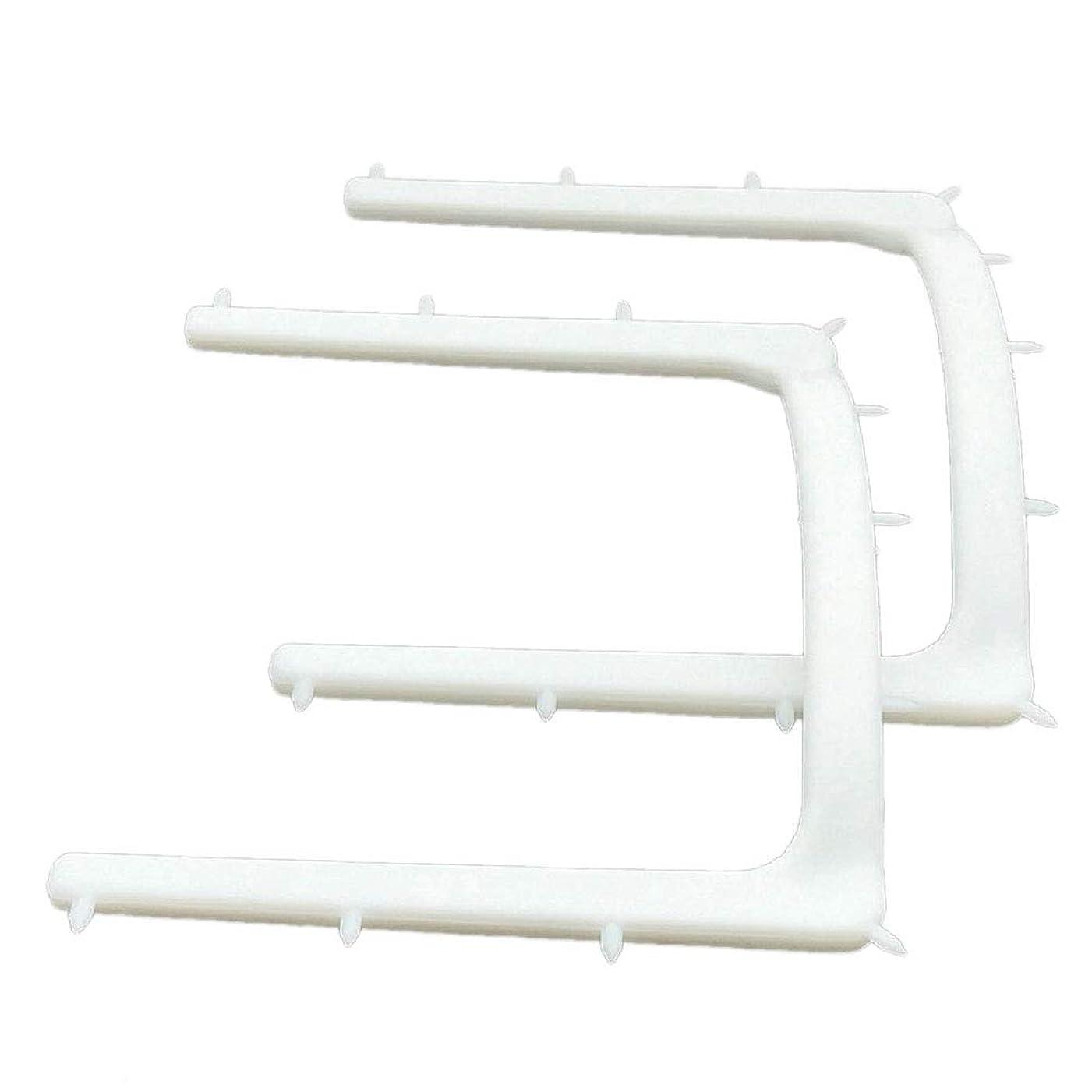 上級規則性純正Healifty 10ピース歯科ゴム製ダムフレームホルダー器具使い捨てオートクレーブゴムバリアブラケット
