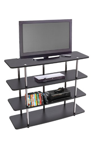 Convenience Concepts Designs2Go XL Highboy TV Stand Black