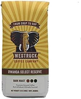 Westrock Coffee Company Rwanda Select Reserve, Dark Roast, 12-ounce Ground