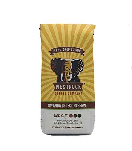 Westrock Coffee Company Rwanda Select Reserve, Dark Roast, 12-ounce Ground