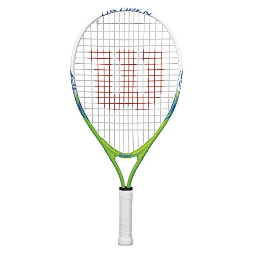 Wilson Youth US Open Recreational Tennis Racket - Green/Yellow, 21