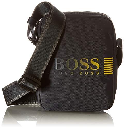BOSS Herren Pixel DD_NS zip mini Crossbody Bag, Dark Blue409, ONESI