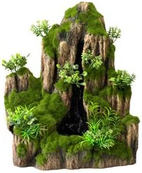 Aqua Della One Way Moss Rock Aquarium Waterfall Amazon Co Uk Pet Supplies