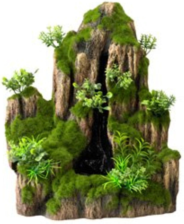 Aqua Della OneWay Moss Rock Aquarium Waterfall