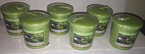 Yankee Candle Lot of 6 Meadow Showers Votives