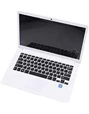 Mefeny 14,1 tum Hd lätt och ultratunn 2+32G lapbook bärbar dator Z8350 64-bitars Quad Core 1,92Ghz Windows 10 2 MPp kamera (vit) UK-kontakt
