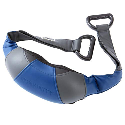Infinity Cordless Rechargeable Shiatsu Neck Shoulders and Body Massager with Heat 5 Hour Runtime Between Charges 4 Programs Speed Control