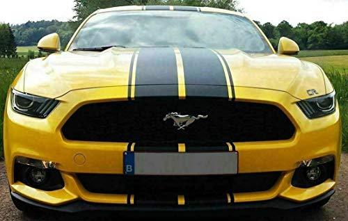 XPLORE OFFROAD - Double Racing Stripe Decal | Universal 17' Wide Full Body Hood...
