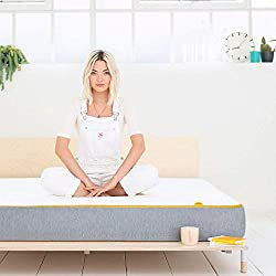 BEST OF BOTH COMFORT --- Springs or foam? It's tricky, but we've made the decision easier with our best of both mattress option. Pure comfort and top-to-toe support, thanks to the perfect mix of over 650 pocket springs and our unique foam TAKE THE PR...