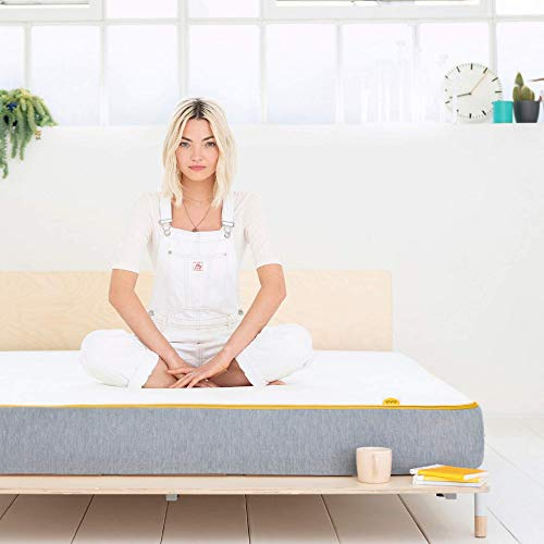 eve Sleep Lighter Hybrid Spring and Memory Foam Mattress | Breathable, 10 Year Warranty, Which? Best Buy 2019 Mattress, Single (90 x 190 cm)