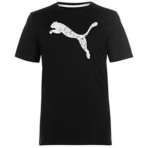 Puma Herren Big Cat QT T Shirt Rundhals Kurzarm Baumwolle