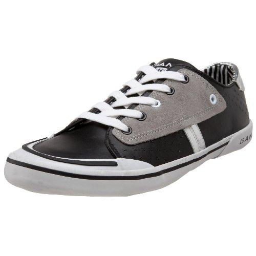 GANT Rush Black/Grey/Silver Leathe 45.40087B259, Herren Sneaker, schwarz, (Black/Silver B259), EU 41