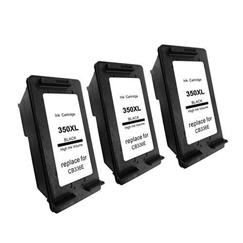 Compatible 350xl cartuchos de tinta reemplazo, para impresora HP Deskjet D4200 D4245 D4260 D4263 3* negro