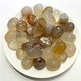 DANHUI Piedras de ágata de Grava de Cristal de cornalina caídas Naturales de 100g para Plantar Acuario pecera Material de Bricolaje (Color : 100g 15 20mm)