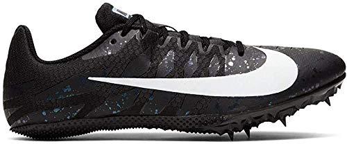 Nike Zoom Rival S9 Track & Field Spike Schuhe, Schwarz (Schwarz/Weiß/Indigo Nebel), 38 EU