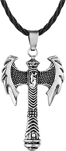 BEISUOSIBYW Co.,Ltd Collar Regalos Collar de Hacha para Hombres Punk Biker Jewelry Vintage Party Bar Friend