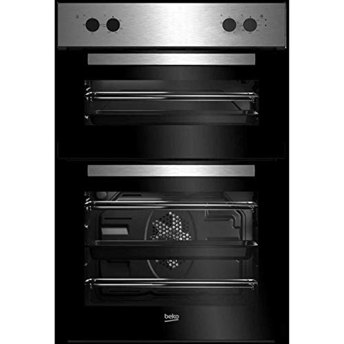 Beko BRDF21000X Built In Double Oven - Stainless Steel