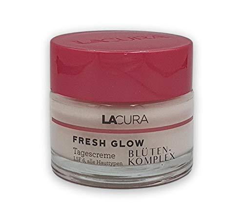 Lacura Fresh Glow Blüten Komplex Tagescreme LSF 6 Alle Hauttypen 50ml