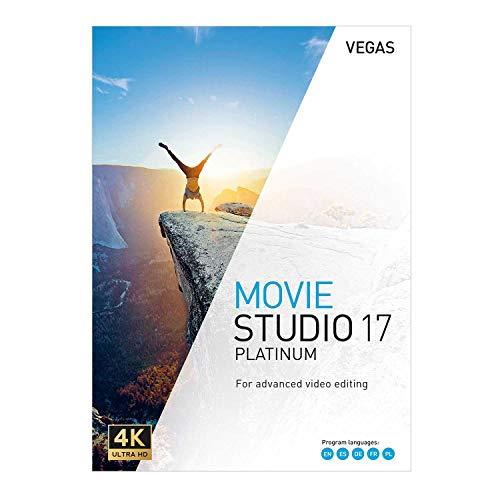 VEGAS Movie Studio 17 Platinum - Filme bearbeiten mit Tools auf Profi-Niveau | PC | PC Aktivierungscode per Email