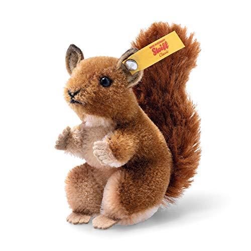 Steiff Wildlife Giftbox Eichhörnchen Kuscheltier, braun/beige, 10 cm