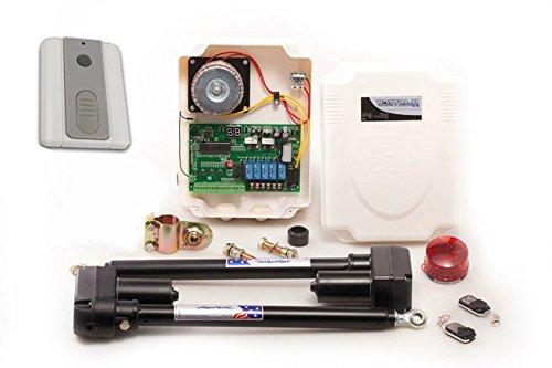 Kit moteur pour porte de antri EB des volets pour portail battant 24 V avec interrupteur mural radio