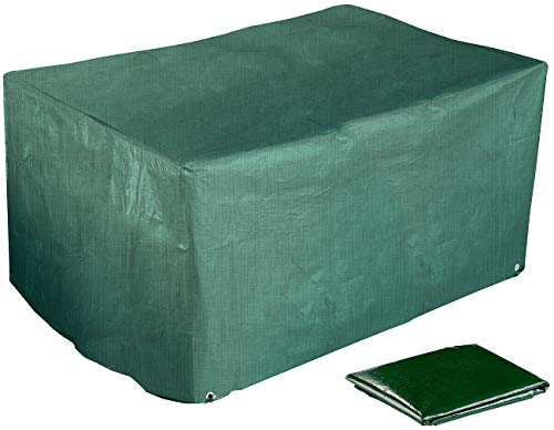 Royal Gardineer Cubrir Mueble de jardín: Sofá de jardín de salón de 2 plazas con Lona de Tela, 120 x 95 x 80 cm, 150 g/m² (Cubiertas)