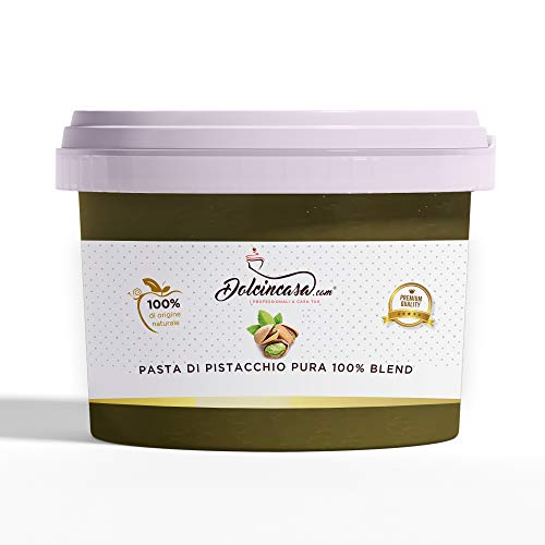 Pasta Pistacchio Puro 100% Senza Glutine- Naturale- Vegano 200gr