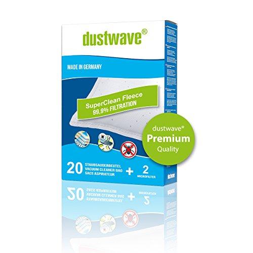 Megapack - 20 dustwave® Premium-Staubsaugerbeutel geeignet für Philips - T 300 / T300 Bodenstaubsauger - Microvlies-Filtertüten