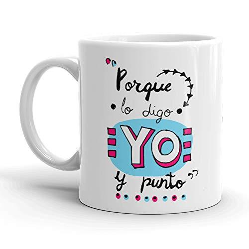 Kembilove. Taza de Desayuno de la Mejor Madre – Taza de café con Frases Graciosas y Originales ¿Si Tus Amigos se tiran de un Puente? – Regalo Original para el día de la Madre 5 Modelos Diferentes