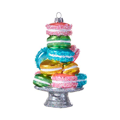 The Bridge Collection Novelty Tower of Macarons Ornament