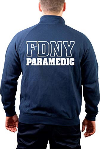 feuer1 Sweatjacke Navy, New York City Fire Dept. Paramedic