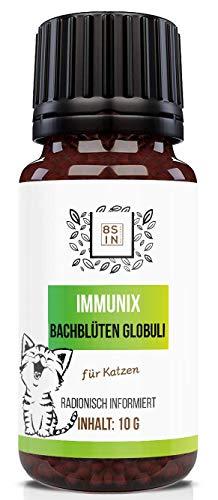8 Sin Nutrition - Immunix Globuli für die Katze - Katzen, Immunsystem - 100% natürlich, 10g